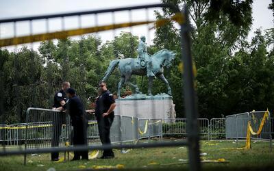 El Parque de la Emancipación, luego de la controversia, bloqueado...