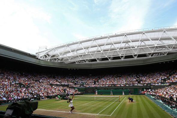 El All England Tennis Club se llenó de exclamaciones de admiración hacia...