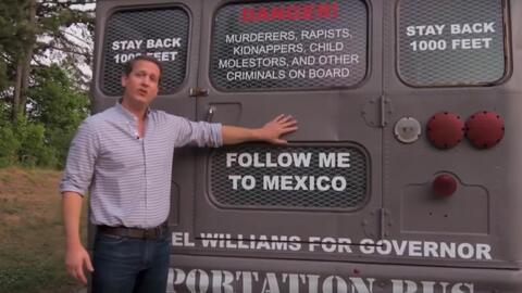Autobús deportación