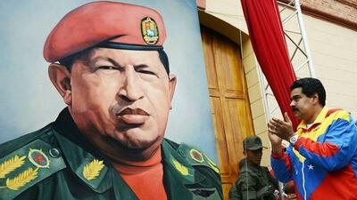 Maduro and Chavez
