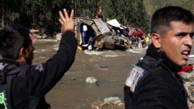 Los percances automovilisticos en Perú son frecuentes por la accidentada...
