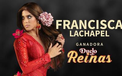 Francisca Lachapel ganadora de Duelo de Reinas