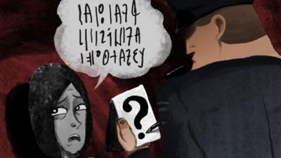 La huella digital: Tragedia sin traducción