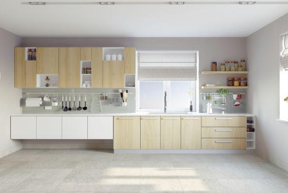 7) Súbele la temperatura a la cocina. No necesitas empapelarla o pintarl...