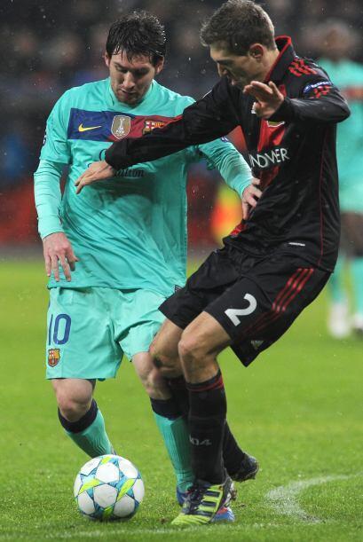 La 'pulga' Messi fue fundamental y por momentos imparable.