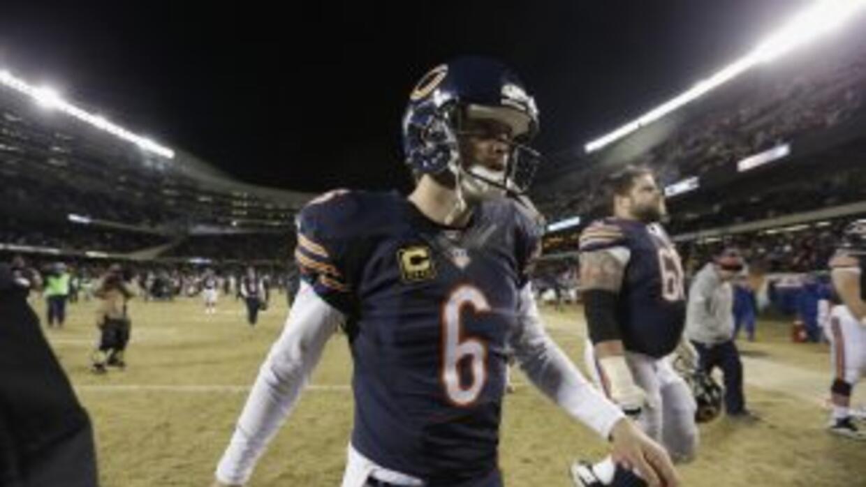 Jay Cutler no sabe si seguirá con los Bears (AP-NFL).