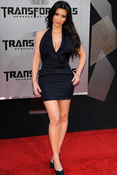 Increíblemente la Kardashian a veces duda de si ella realmente es tan se...