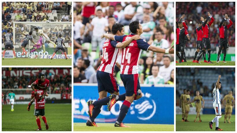 Lo mejor de la fecha cinco del Apertura 2016.