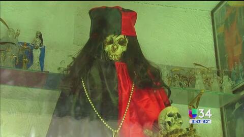 Crece la devoción a la Santa Muerte en México