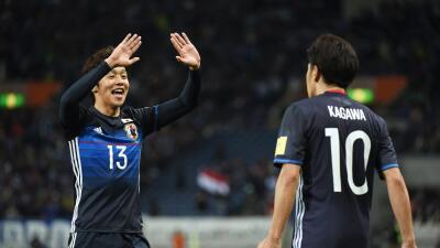 Japón no cede terreno en la eliminatoria asiática al Mundial de Rusia 2018