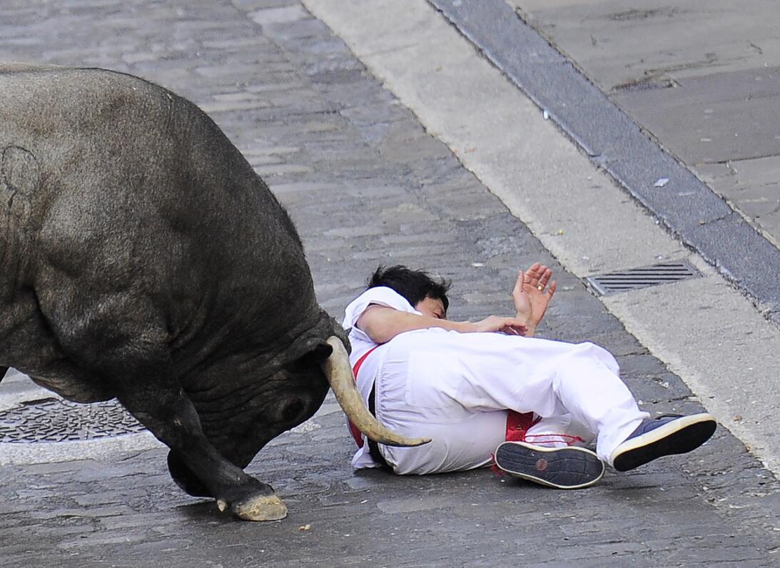 Fiestas españolas de San Fermín: ¿tortura o tradición? GettyImages-54561...