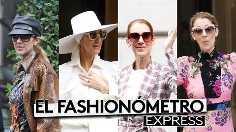 El Fashionómetro: Celine Dion se disfrazó en Paris y nuestro escuadrón n...