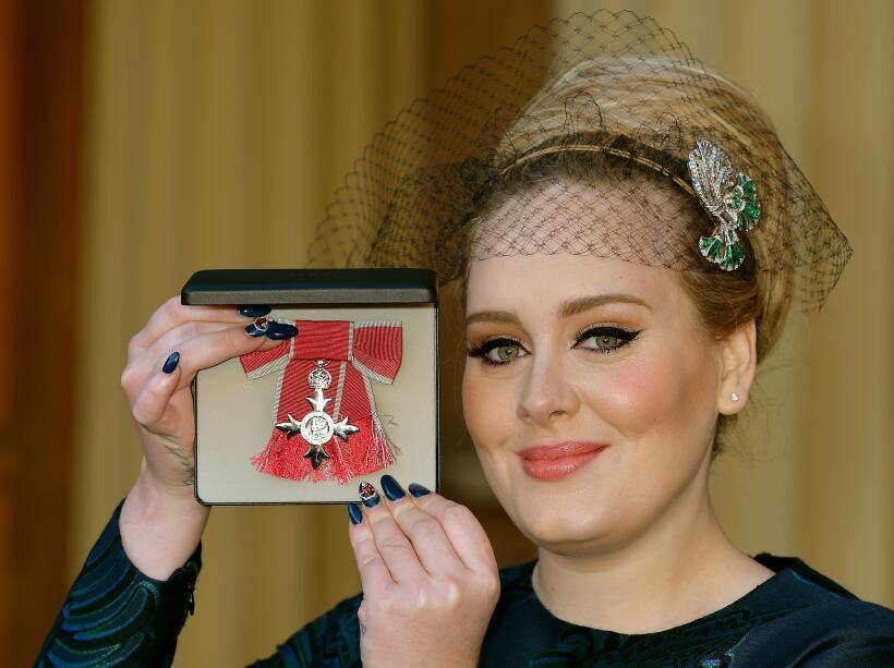 Adele es la chica del momento.