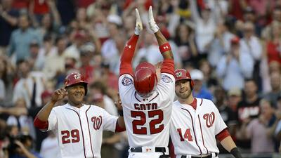 Juan Soto, de 19 años, pegó HR en su segundo turno al bat