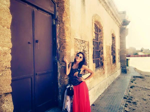 Angelique y sebastián en España
