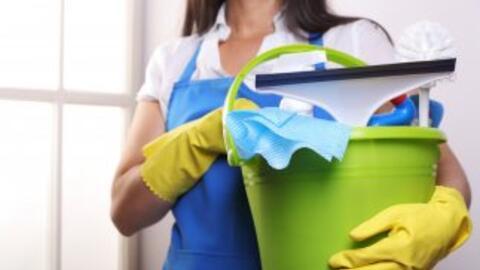 Trabajadora de limpieza