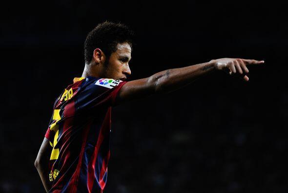 Muchas ganas de Neymar por trascender, pero poca efectividad del brasileño.