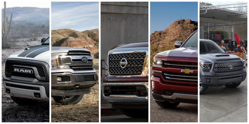 Estas son las camionetas pickup con el mayor valor de reventa en EEUU po...