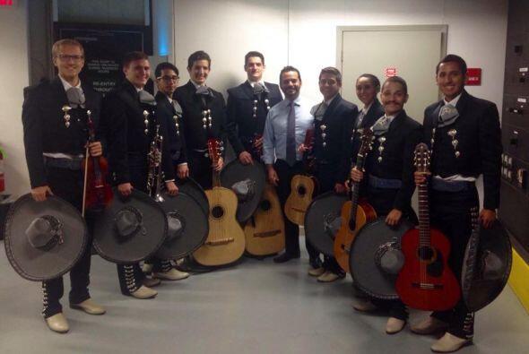Con mariachis y toda la tradición mexicana, Houston celebr&oacute...