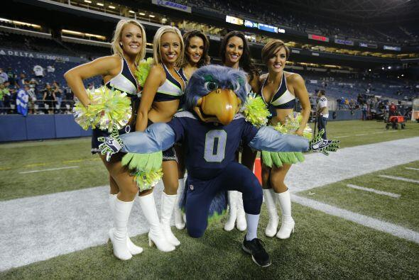 Las porristas de los Seattle Seahawks nuevamente pisan el emparrillado p...