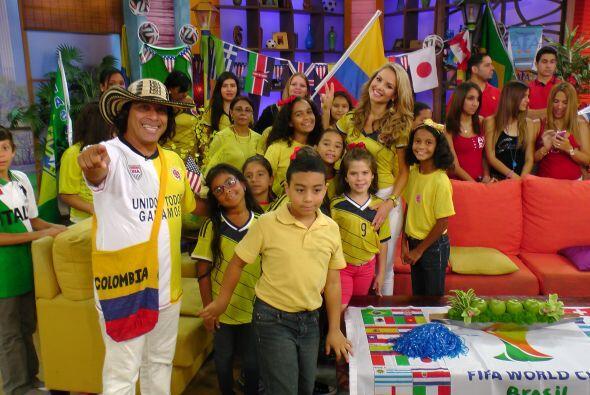 Todos los colombianos hicieron del programa una fiesta esperando que su...