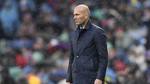 El Real Madrid de Zidane lleva un empate y una derrota en Liga desde el...