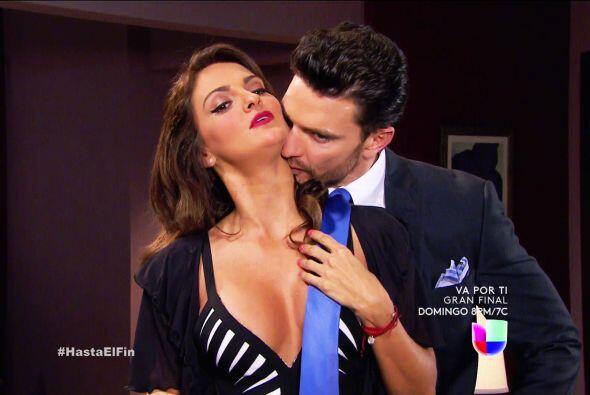 """""""Silvana"""" (Mariana Seoane) se salió con la suya al seducir a """"Patricio""""..."""
