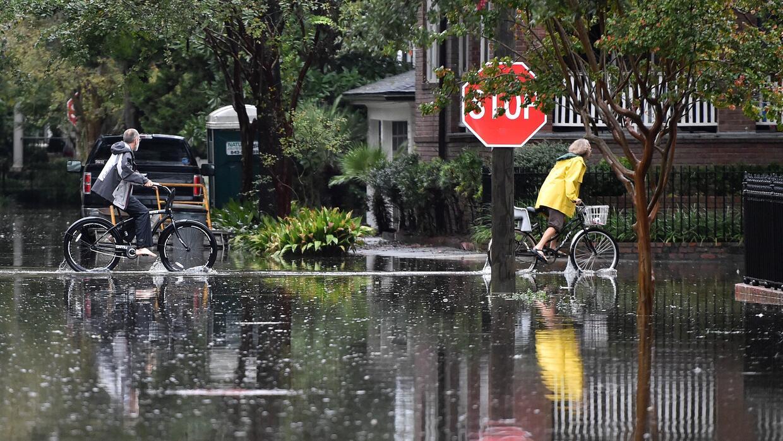 Inundaciones en Carolina del Sur