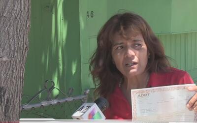 Mujer denuncia que su propiedad fue vendida con engaños