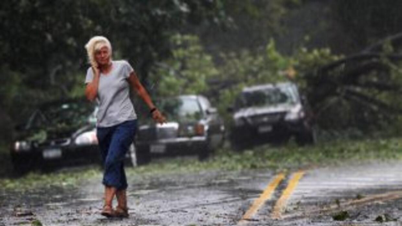 El huracán Irene causó daños considerables la tercera semana de ahosto e...