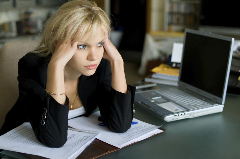 El primer paso para manejar el estrés es reconocer las señales de cuando...