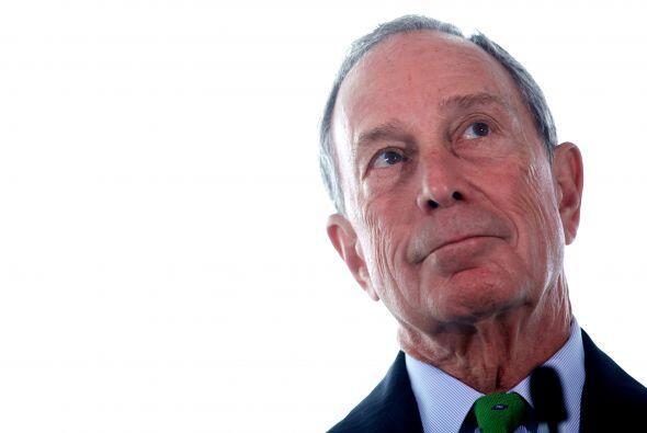 5. Con sus 31,000 millones de dólares, Michael Bloomberg, alcalde...