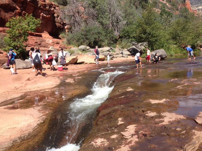 Slide Rock: Tobogán de agua natural en Sedona