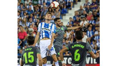 En fotos: con Héctor Moreno, la Real Sociedad no pudo superar a Leganés