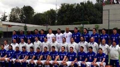 La Máquina se tomó la foto oficial del Torneo Apertura 2013. (Cortesía C...