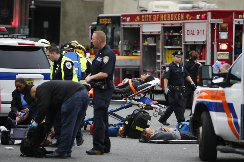 Los equipos médicos de Hoboken requirieron refuerzos para poder atender...