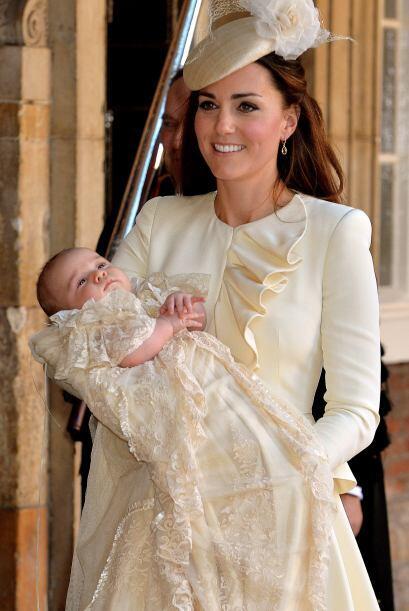 Kate Middleton lució sensacional durante el bautizo de su hijo.