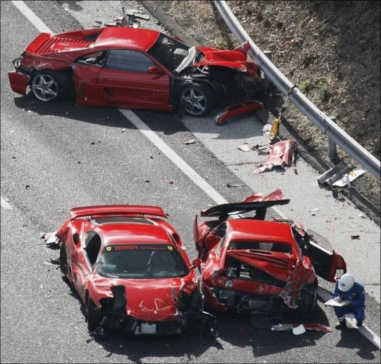 Así terminó el Ferrari 458 Spider que era de 'Lord Ferrari'  the-most-ex...