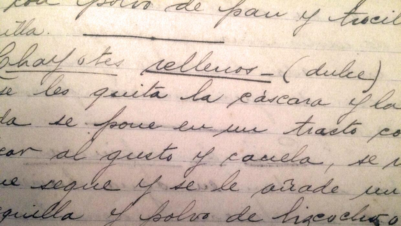 El recetario de la tía tatarabuela Mimi