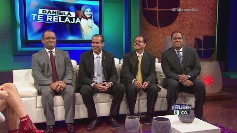 Los políticos se enfrentan en Daniela Te Relaja