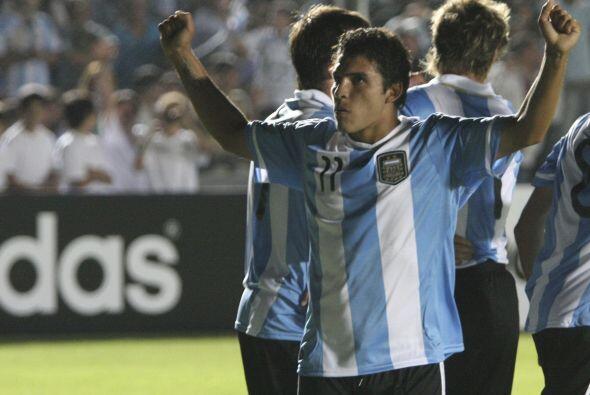 La selección argentina, compuesta por jugadores del ámbito...