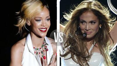 ¿J.Lo de mamá de Rihanna? Como que exageran, ¿no?