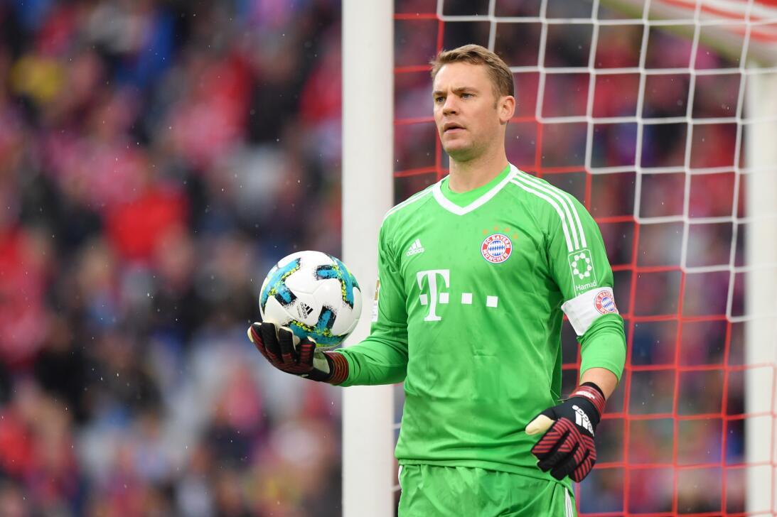 8. Manuel Neuer (Bayern Múnich - Alemania): 43 millones de dólares.