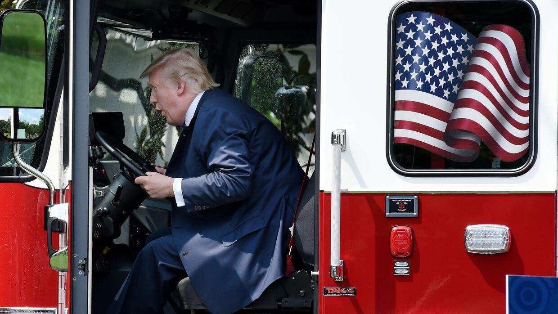 El presidente Trump declaró en su campaña que pondr&iacute...