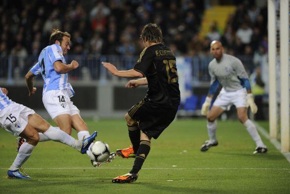 Málaga buscó por todos los medios reaccionar, pero la eliminatoria estab...