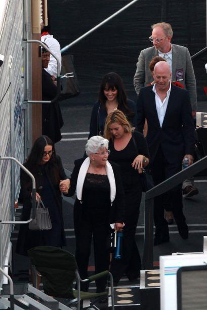 Los famosos de Hollywood se reencontraron.