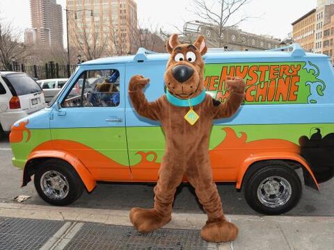 El personaje de las caricaturas 'Scooby Doo' participó en un even...