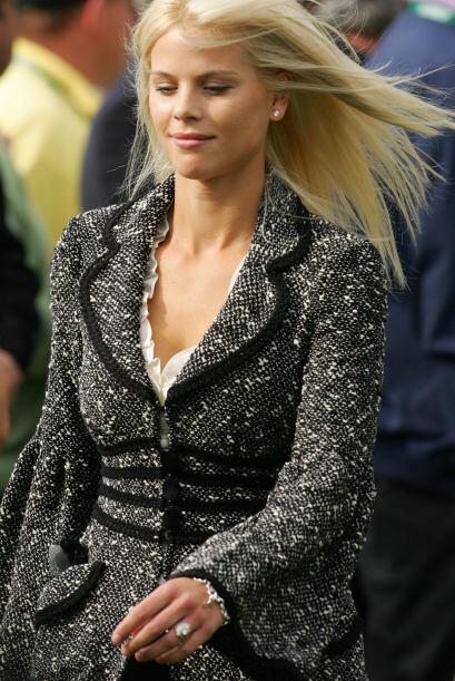 La bella modelo sueca se quedó con la custodia de los hijos de la...