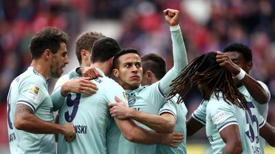 En fotos: Bayern sigue en ascenso tras vencer en la Bundesliga al Mainz