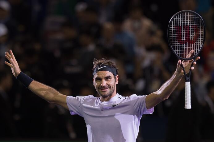 Roger Federer: Campeón del Masters de Shangái gettyimages-861555910.jpg